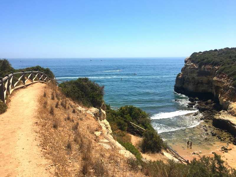 self-guided hiking tour in Algarve Portugal