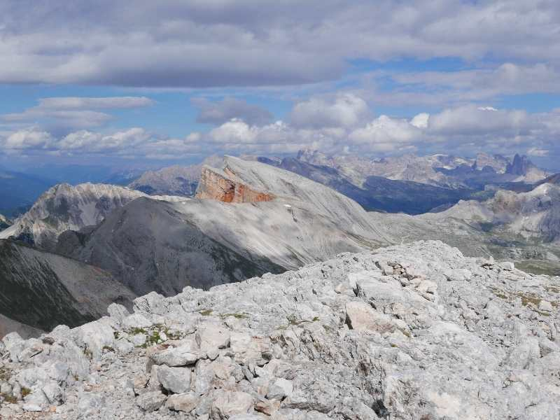 You get stunning mountain scenery on your Alta Via 1 North Hiking Tour in Italy