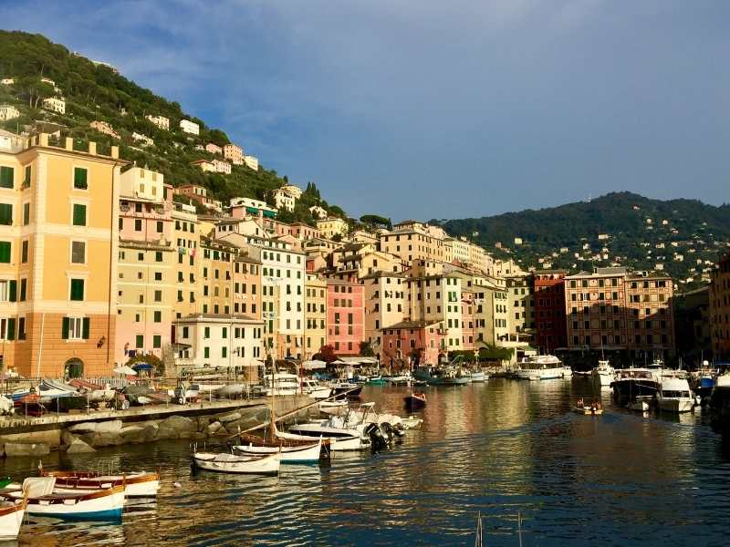 Day 1: Town of Camolgi where you'll stay on your Cinque Terre Walking Tour