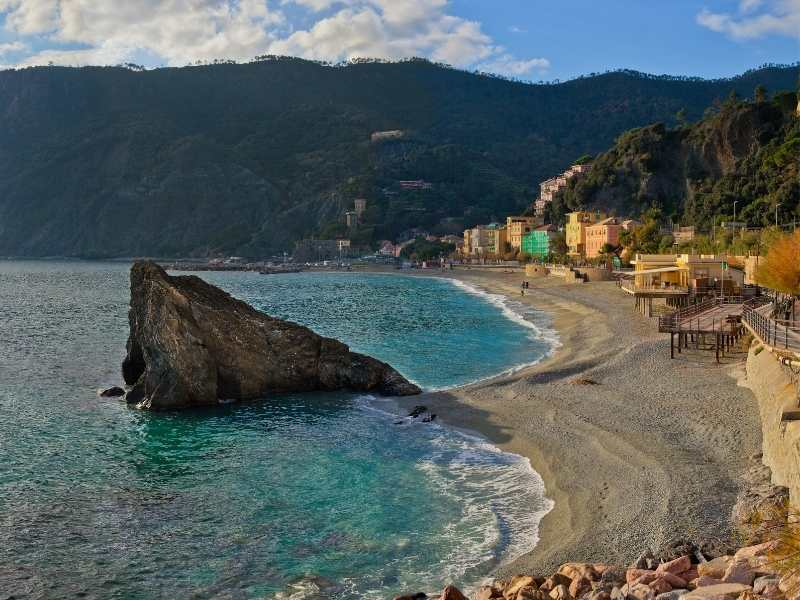 Day 4: You'll stay in Monterosso, one of the 4 Cinque Terre villages