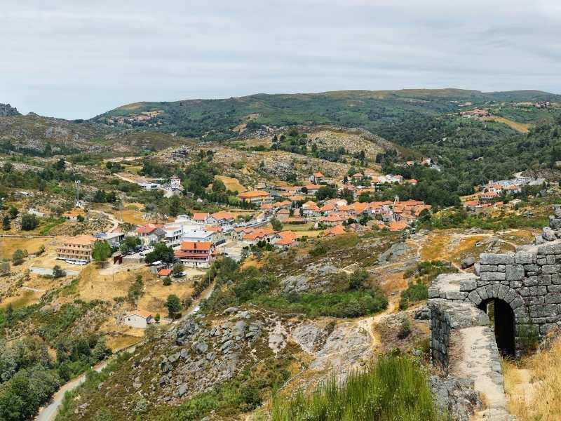 Hiking near Castro Laboreiro Village in Peneda-Geres, Portugal