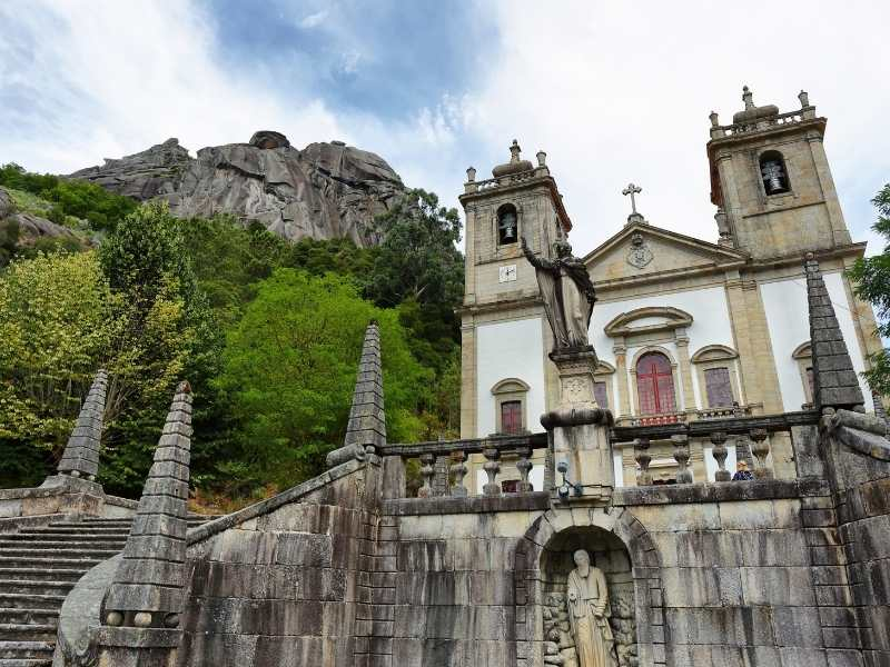 Our Lady of Peneda Sanctuary in Peneda-Geres National Park