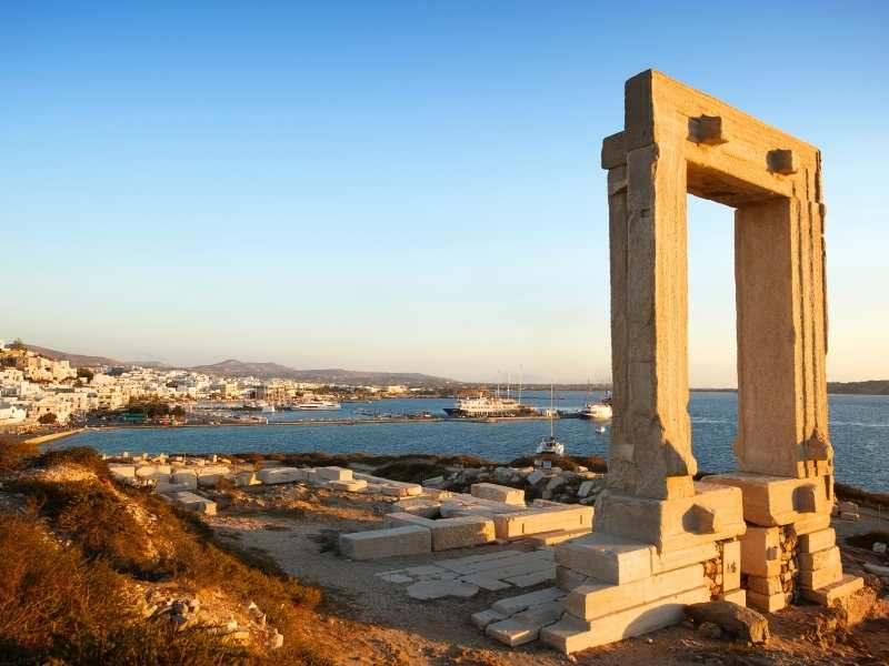 Hiking in Naxos during the Cyclades Islands Hiking Tour
