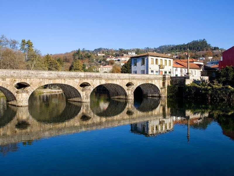 Crossing a Roman Ancient Bridge in Peneda-Geres