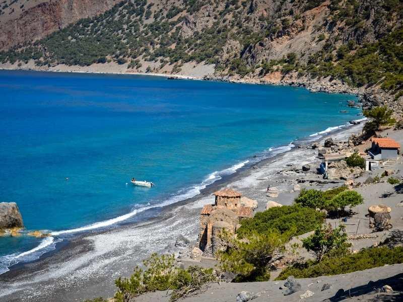 Hike from Agia Roumeli to Marmara self-guided hiking tour in Crete