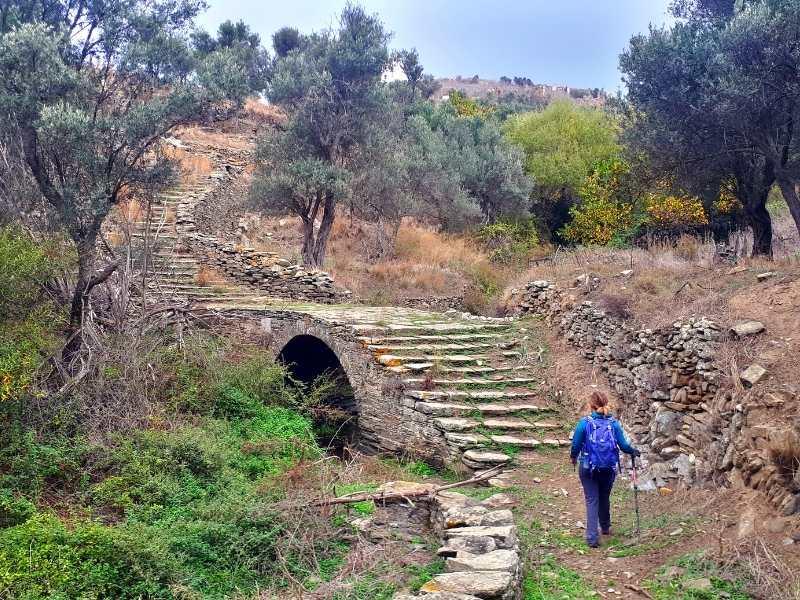 hiking trail near Chora