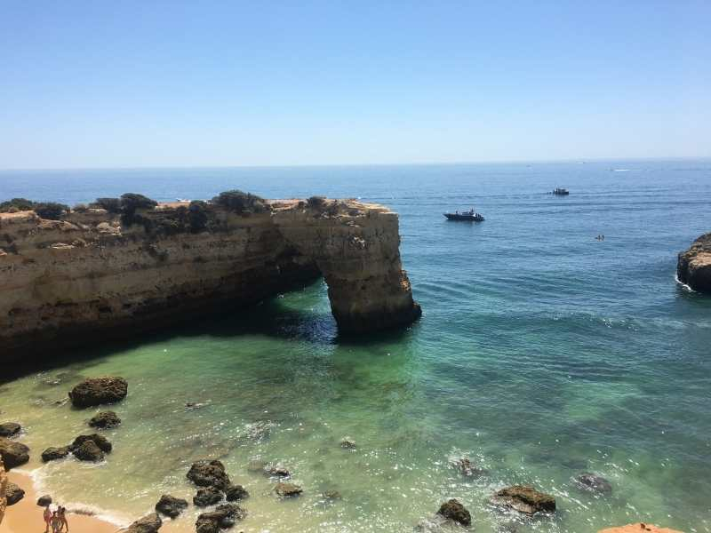 cool off with a swim in the Atlantic Ocean after hiking in the Algarve