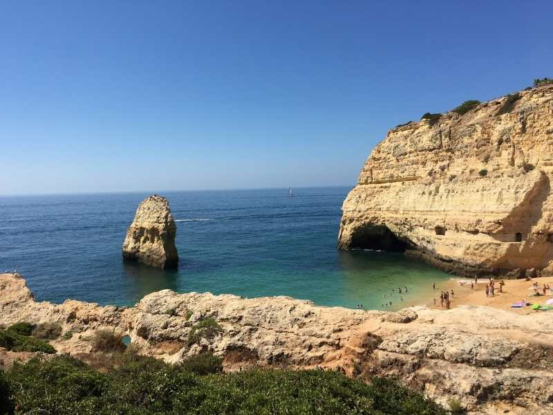 after your hike cool off with a swim in the Algarve