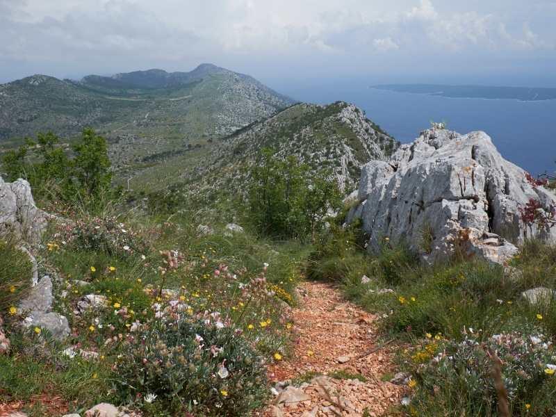 Hiking trails in Croatia