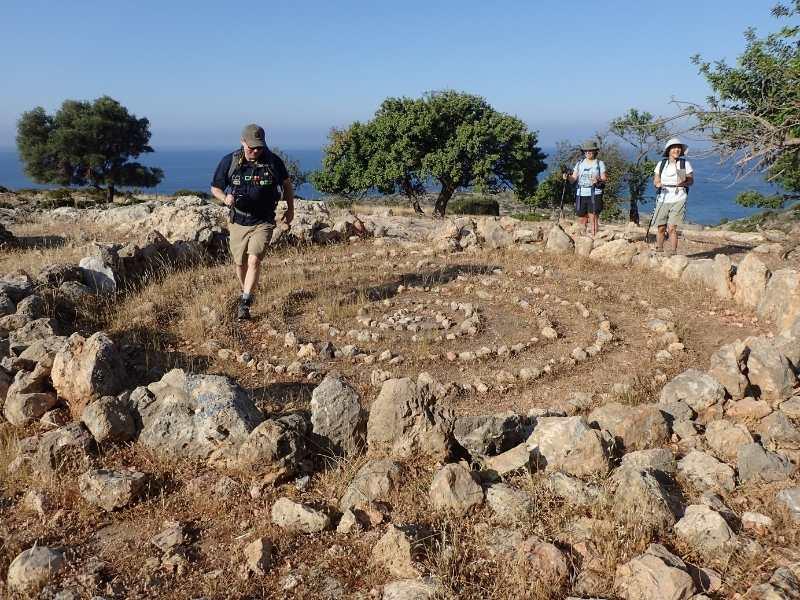 Marmara self-guided hiking tour in Crete
