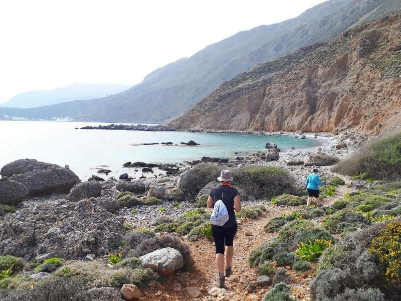 Loutro to Sfakia Hike self-guided hiking tour in Crete