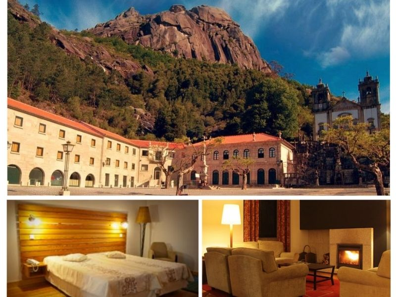 sample hotels that you'll stay in on your self-guided hiking tour of Peneda-Geres in Portugal