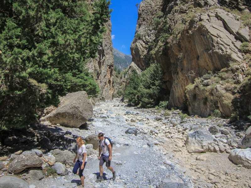 Samaria to Gorge self-guided hiking tour in Crete