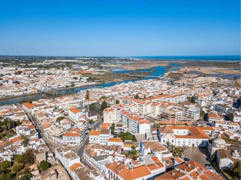 Tavira is your first base on your Algarve hiking tour