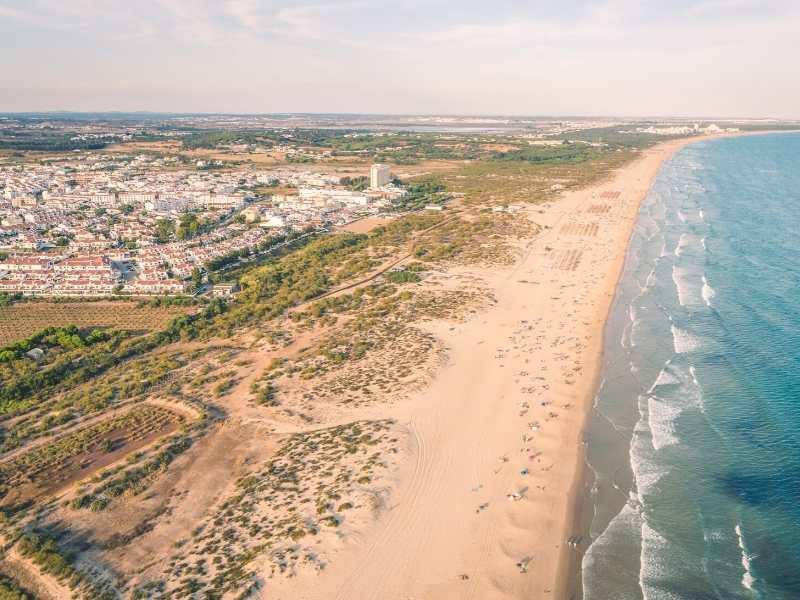 Cabanas Beach Algarve Portugal