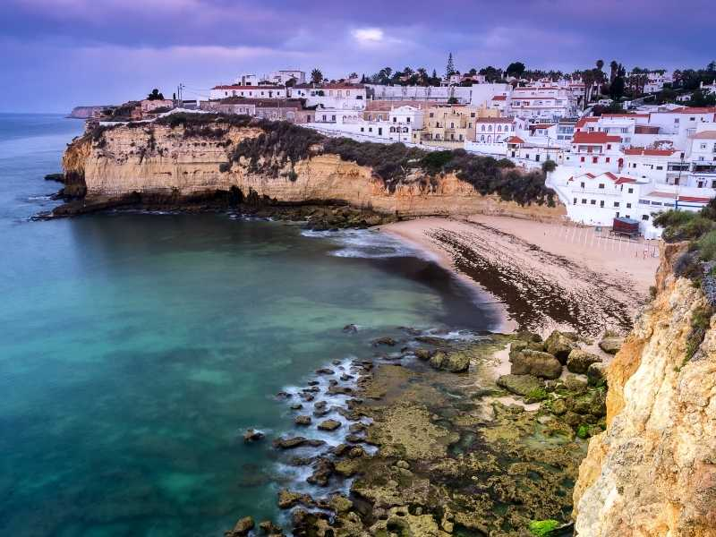 Carvoeiro is the second base for your Algarve tour