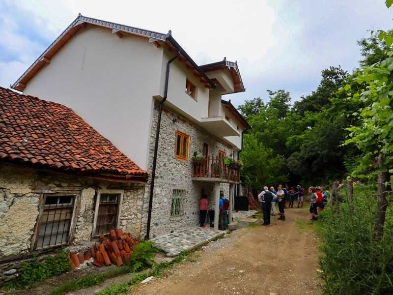 A typical guesthouse that you'll stay in on your Via Dinarica hiking tour