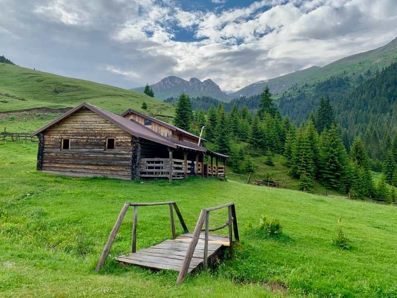 Milishevac, Kosovo on the Via Dinarica Hiking Route