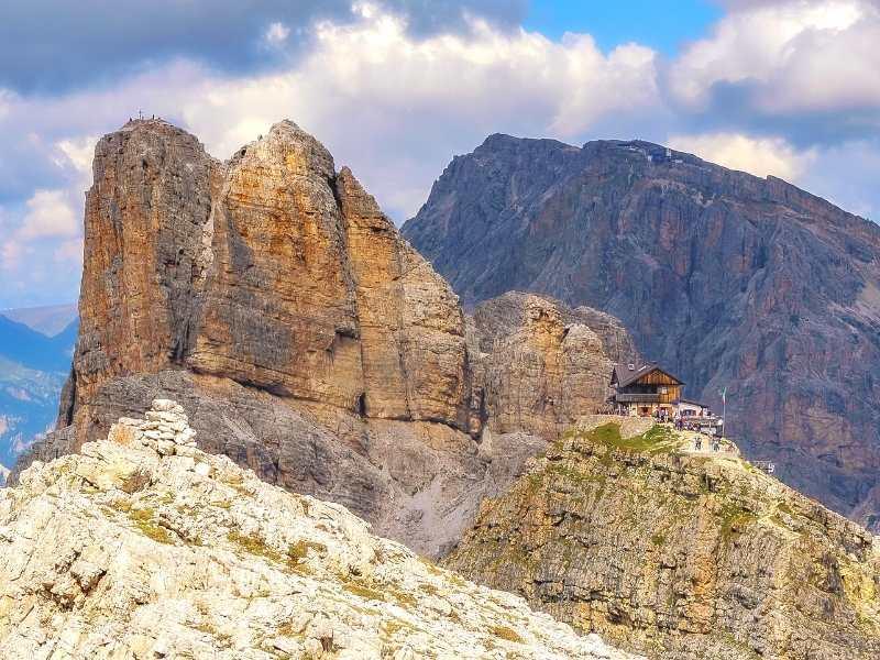 On Alta Via 1 hike you g