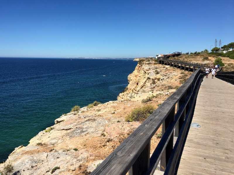 coastal hike in Algarve, Portugal