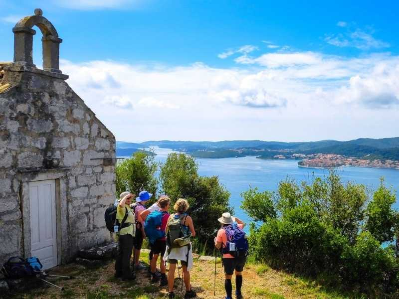 Croatia hiking tour from Split to Dubrovnik self-guided