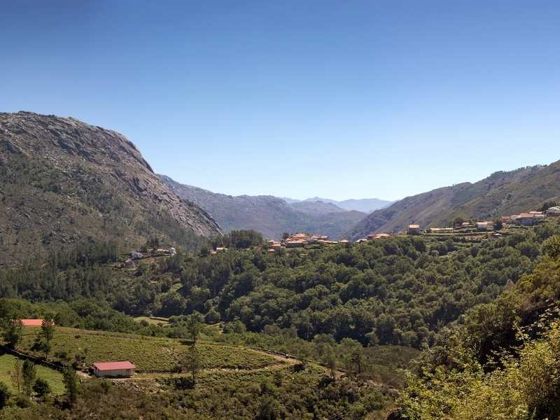 View of Peneda-Geres, Portugal's only national park