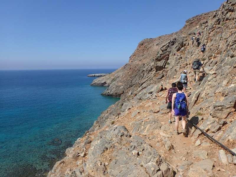White Mountains Crete, Greece Hiking Tour self-guided