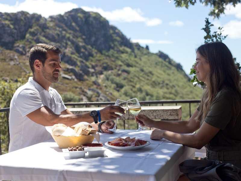 Local portuguese wine near Peneda-Geres National Park