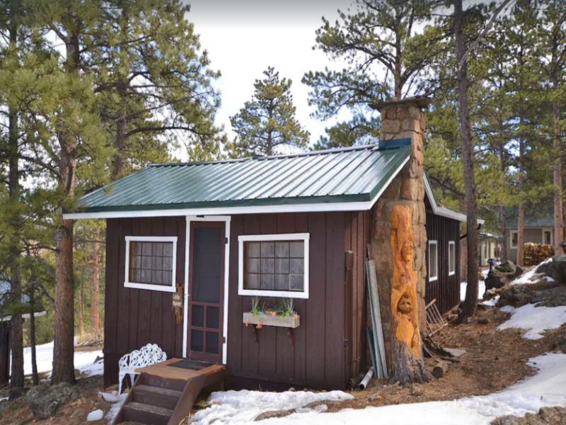 Little Mooser Cabin in Estes Park, Colorado