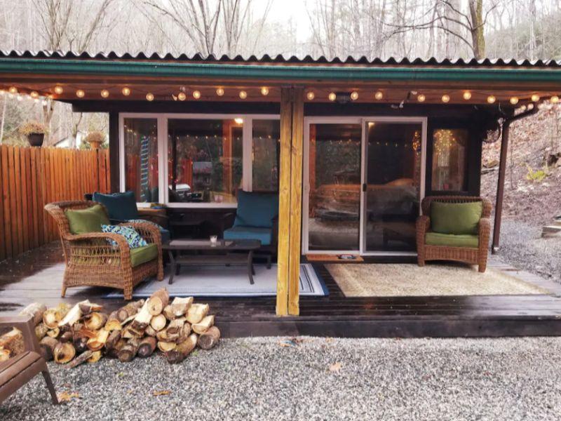 Creekside Cabin Bungalow on VRBO