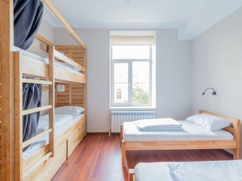 Hostels - Types of Accommodation