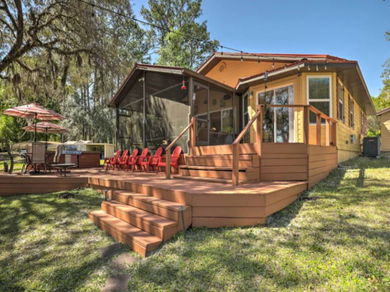 lake Hutchinson Cabin in Florida