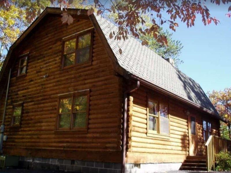 Luxury Mountain Log Cabin on VRBO