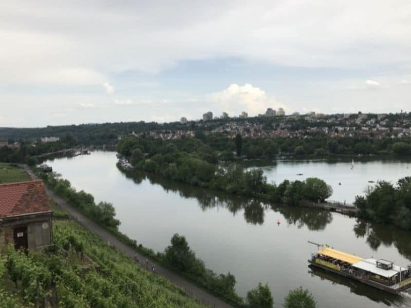 Stroll through beautiful vineyards in Germany