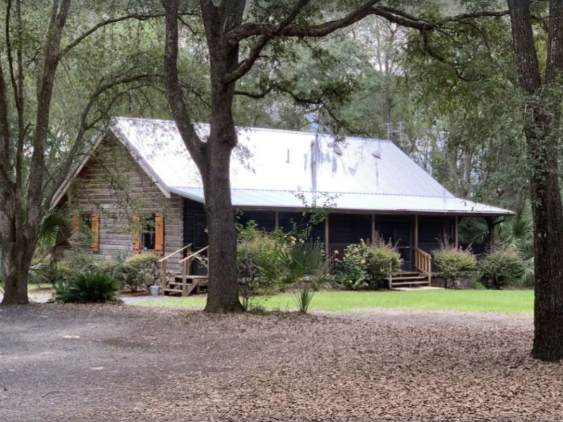The Log Cabin at Lake Weir - Florida Cabins to rent