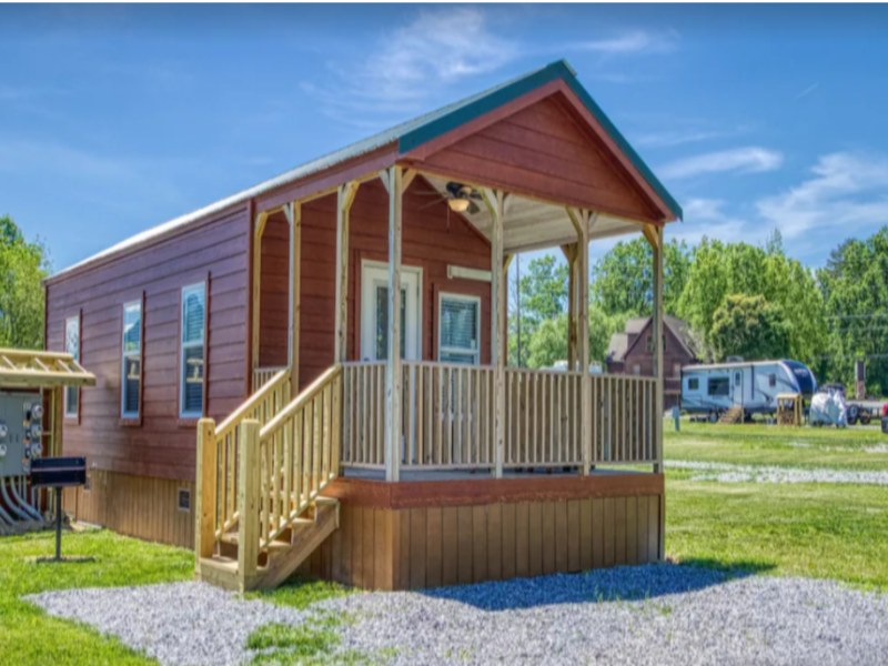 Tiny Home Living in the Bunk House on VRBO