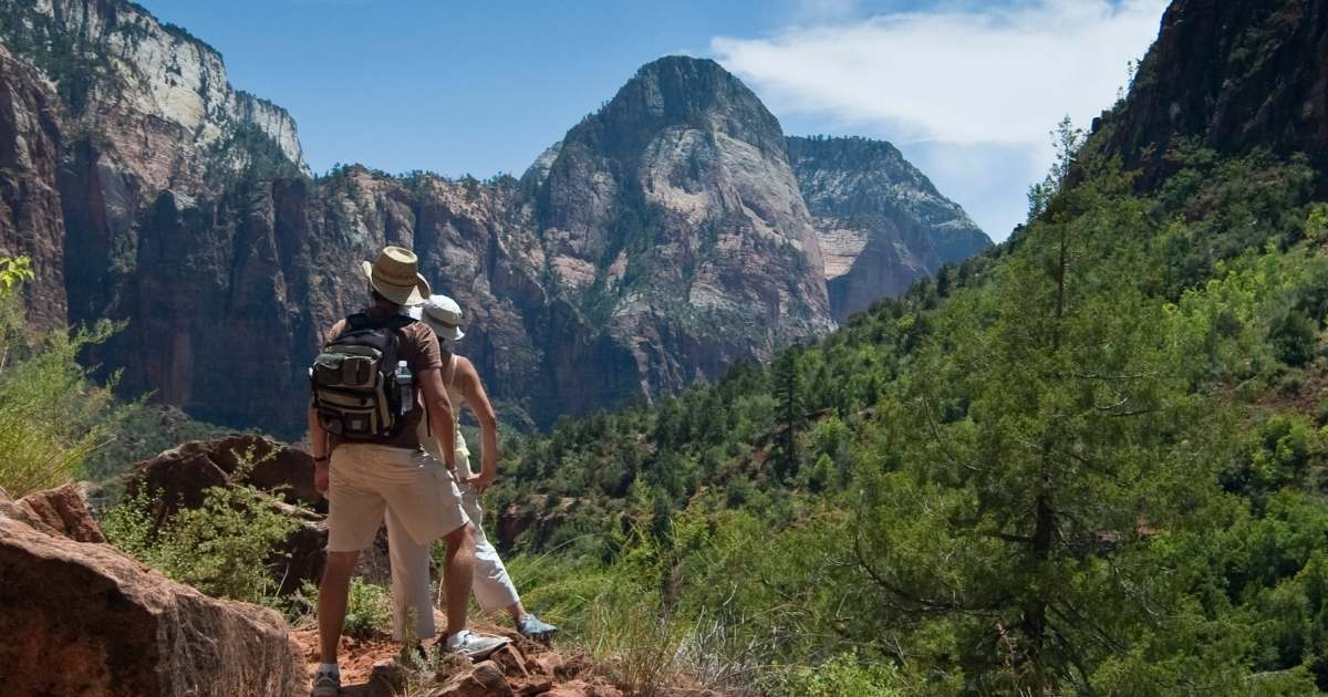 convince your partner to go on a hiking holiday