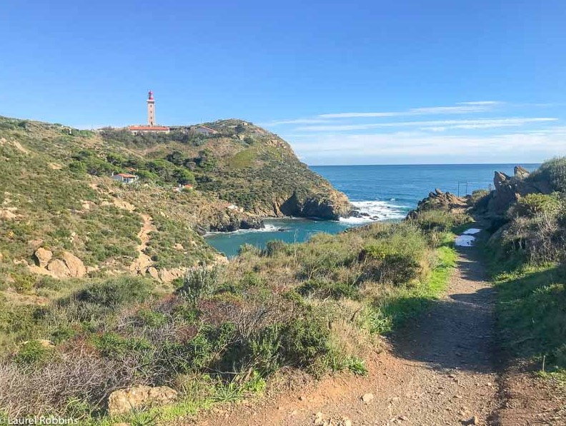 coastal trail to a lighthouse in Costa Brava