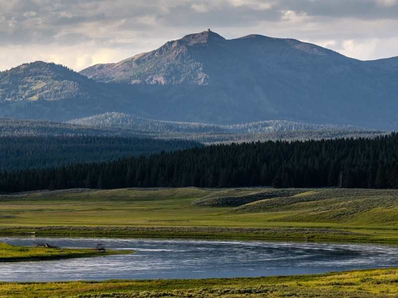 Some of the best hikes in Yellowstone National Park will reward you with epic views of Mount Washburn