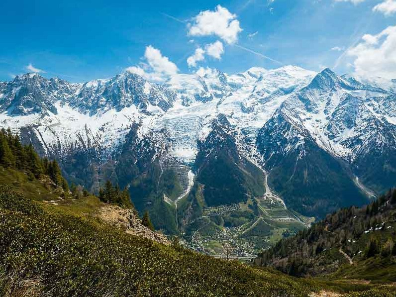 Self guided hikers will stay in Courmayer on their Tour du Mont Blanc