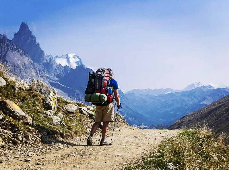 how to choose right backpack for you on a multi-day hike like the Tour du Mont Blanc or Dolomites